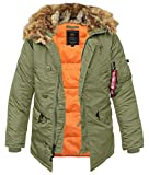 Alpha Industries N3B VF 59 sage green - S