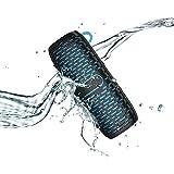 YMXLJJ Mini Bluetooth Lautsprecher Im Freien Kann auf Dem Fahrrad Installiert Werden 6W Dual Drive HD Audio Subwoofer 360 ° Surround Freisprecheinrichtung Bluetooth 4.1 Party, Pool, Badezimmer,Blue