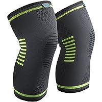 Knieschoner Knieschützer 1 Paar Sable Knieschutz für schnellere Genesung, mehr Stabilität und Unterstützung beim Laufen und Joggen Size:L