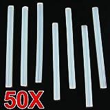 SODIAL (R)50X BATON DE COLLE CHAUD RECHARGE 7X100MM POUR PISTOLET