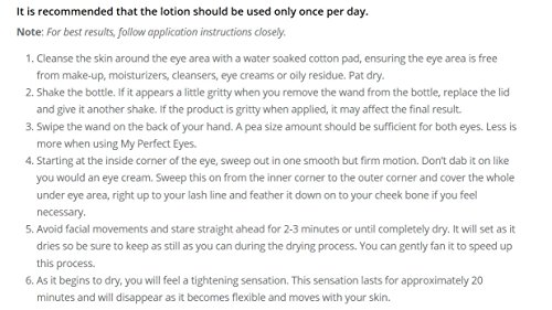 The Perfect Cosmetics Company My Perfect Eyes Cream 100 Applications