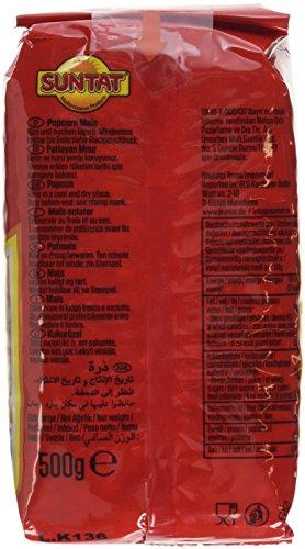 SUNTAT Popcorn Mais, 3er Pack (3 x 500 g) - 4