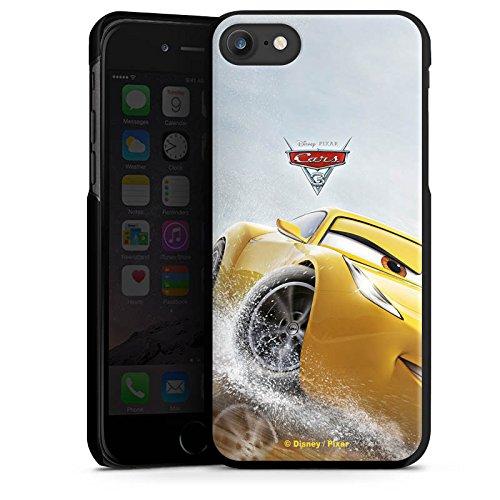 Apple iPhone 4 Silikon Hülle Case Schutzhülle Cruz Ramirez Disney Cars Cars 3 Hard Case schwarz