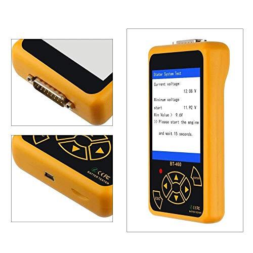Tester for batteria for auto - Strumento di diagnostica for tester di carica for voltaggio di carico for tester di batteria digitale for auto 12V / 24V Strumento diagnostico for moto for barche , vers
