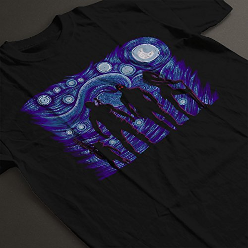 Starry Night Guardians Of The Galaxy Men's T-Shirt Black