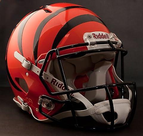 NFL Cincinnati Bengals Speed Authentic Football Helmet