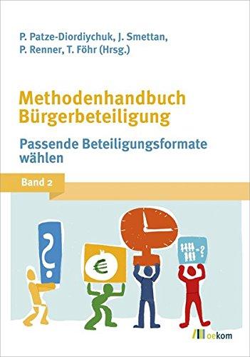 Methodenhandbuch Bürgerbeteiligung: Band 2: Passende Beteiligungsformate wählen Buch-Cover