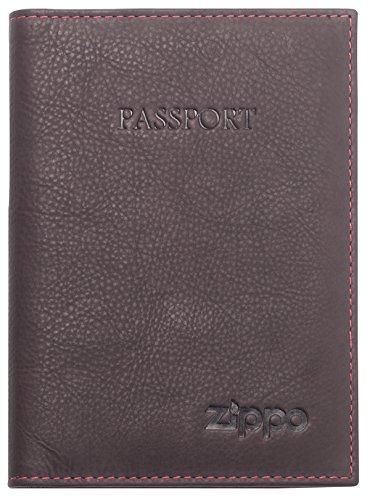 Zippo Cartera para Pasaporte, marrón (Marrón) - 2005419