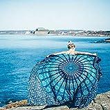 Ebeta Toallas de Playa, Indian Mandala Beach Towel, Kimono Túnica, Toalla de Playa de Gasa 148 x...