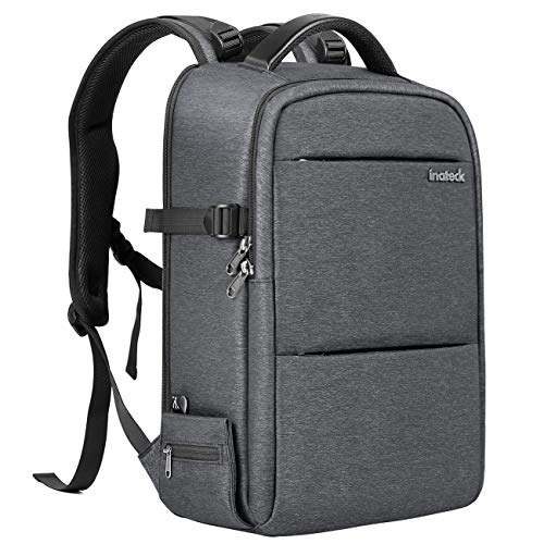 """dslr drohne Inateck 3-in-1-Rucksack ALS DJI Mavic Pro/Air/Mavic2 Pro/Mavic 2 Zoom Drohnen-Tasche/DSLR Kamera-Tasche / 15.6"""" Laptop-Tasche, wasserfester Multifunktions-Rucksack mit Regenschutzhülle und Stativfach"""