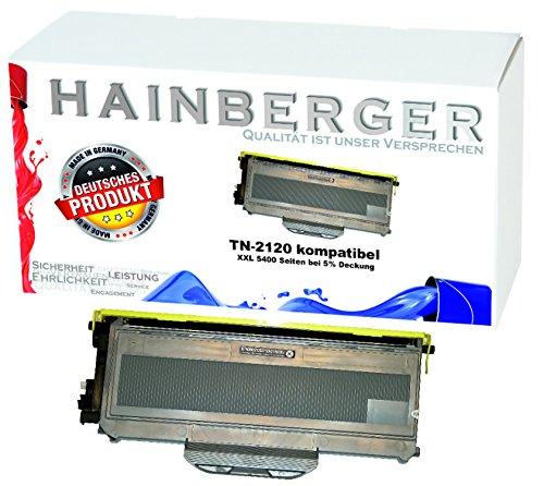 5400 Seiten Hainberger XXL Toner ersetzt Brother TN2120