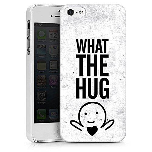 Apple iPhone X Silikon Hülle Case Schutzhülle Liebe Herz Sprüche Hard Case weiß