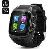 Smartwatch con Tarjeta SIM Cámara MP3 MP4 Navegador Pantalla Táctil WIFI GPS