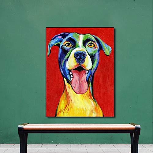 XWArtpic Poster und Wandbilder auf Leinwand Cute Dog pet Poster für Wohnzimmer Schlafzimmer Wohnkultur 60 * 80cm (Disney Osmanischen)