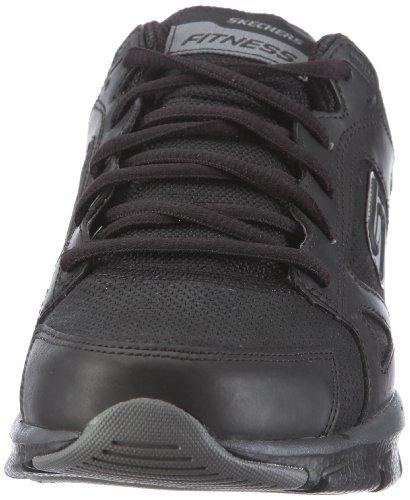 Shape-Ups Liv-Alive, Chaussures de sport homme Noir (Bbk)