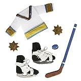 Rayher 58440000 Deko-Sticker: Eishockey, m. Klebepunkt, SB-Btl 7Stück