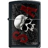 Zippo 60002075 Soa Briquet Laiton Noir Mat 3,5 x 1 x 5,5 cm