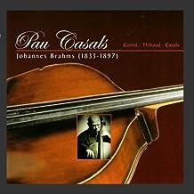 Brahms: Sonata para Cello y Piano No. 2 & Doble Concierto para Violin, Cello y Orquestra