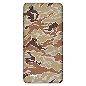 Mobo Monkey Designer Printed Back Case Cover for Vivo Y31 :: Vivo Y31L (Texture :: Patterns :: Military :: Army :: Camouflage)