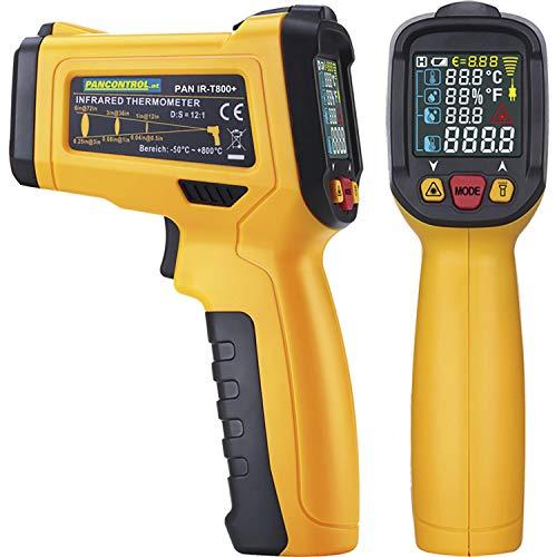 Infrarot-Digitalthermometer PAN IR-T800+,12:1 m. Laser -