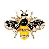 Cosanter Kreative Broschen & Pins Wunderschön Legierung Intarsien Strass Für Frauen Mädchen Das beste Geschenk Insektenbiene Grafik