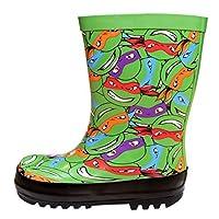 TMNT Boys Teenage Mutant Ninja Turtles Wellington Boots Wellies UK Shoe Sizes from 6 to 10