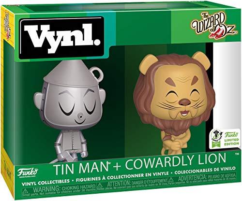 Der Zauberer von Oz ECCC 2019 - Tin Man + Cowardly Lion (VYNL) Vinyl Figure Funko Vynl. Standard (Von Zauberer Oz Lion Der)