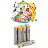 Fisher-Price Tapis Evolutif + piles AAA AmazonBasics