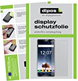 dipos I 2X Schutzfolie matt passend für Oukitel K6 Folie Bildschirmschutzfolie