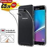 BoxLegend Hülle für Samsung Galaxy J5 2017 Soft Schutzhülle für Samsung J5 2017 Ultra Transparent Hülle Premium Kratzfest TPU Durchsichtige Slimcase
