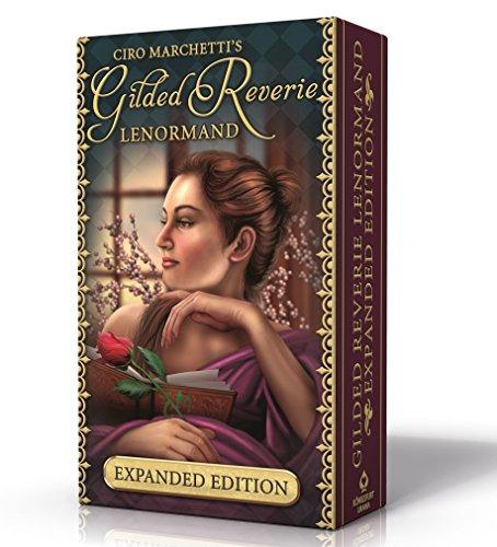 Gilded Reverie Lenormand: Mit weiteren 8 Zusatzkarten, 3 Austauschkarten und Begleitheft auf Deutsch par Ciro Marchetti