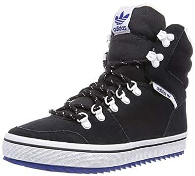 adidas Originals Honey Hill, Baskets mode femme - Noir (Black 1/Running White Ftw/Collegiate Royal), 36 EU