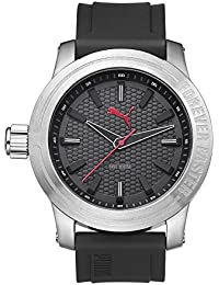 Puma Time Herren-Armbanduhr Impulse Analog Quarz Plastik PU103991001