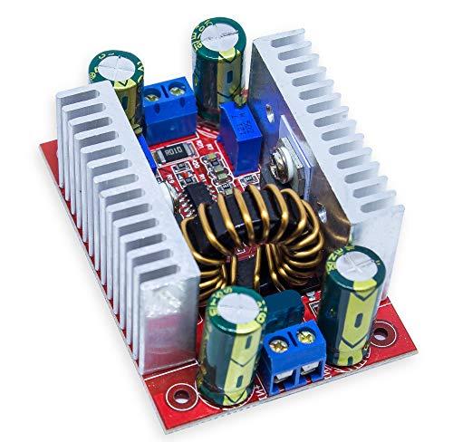 MissBirdler 300W 15A DC8.5V-50V nach 10-60V Step-up Boost Power Converter für Arduino Raspberry Pi, HIGH Power LEDs - High Boost