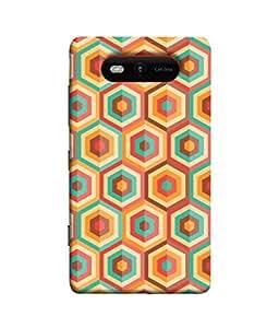 PrintVisa Designer Back Case Cover for Nokia Lumia 820 (Love Lovely Attitude Men Man Manly)