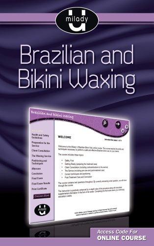 Brazilian Bikini Gedruckt (Milady U Brazilian & Bikini Waxing, Slimline Printed Access Card)