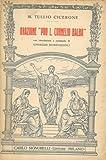 Orazione ÒPro L. Cornelio BalboÓ . Con introduzione e commento di Giorgio Bonfiglioli.