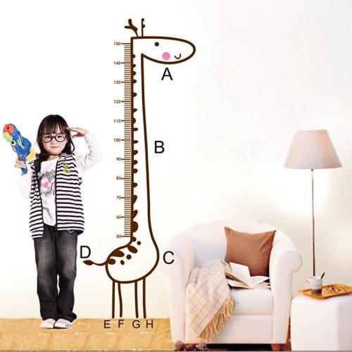Diy Autoadesivi Moda Pvc Wall Stickers / Casa Decorazione Interna Immagini Rimovibili - Giraffe Misura (Giraffe Corda)