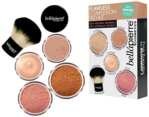 Bellapierre Cosmetics deep Flawless Complexion Pro Kit, 1er Pack (1 x 19 g) - Honeysuckle Vitamine
