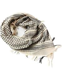 FREE SOLDIER 100% Baumwolle Militär Schal 110cm x 110cm Tactical Desert Shemagh Palästinensertuch-Schal Wrap Für Männer & Frauen
