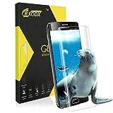 Panzerglasfolie für Samsung Galaxy S6 Edge, [1 Stück] 3D Full Coverage Panzerglas Displayschutz vor Wasser, Staub, Kratzern, Blasefrei, 9H Härtegrad, Anti-Fingerabdruck für Samsung Galaxy S6 Edge