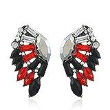 Harye eleganti orecchini Tai Fook Jewellery borse gift pack feedback dei fan 16,9 milioni in tre pezzi orecchio orecchini chiodo a molletta per lobo orecchio ornamenti di R847 (Ce38)
