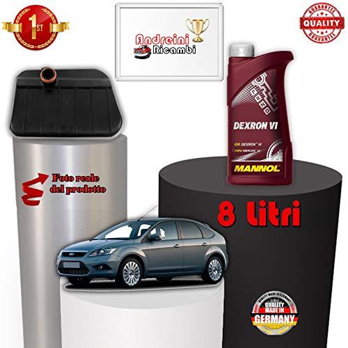 KIT FILTRO CAMBIO AUTOMATICO E OLIO FOCUS II 1.6 TDCI 80KW 2007 -> /1088