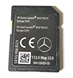 SD CARD MERCEDES GARMIN MAP PILOT STAR1 v12 Europe 2019 - A2189065503 Please check compatibility BEFORE purchase A B C CLA CLS E GLA GLC GLE GLS SLC SLK
