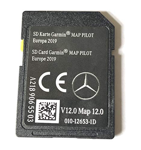 SD-Card Mercedes Garmin-Karte Pilot STAR1 v12 Europe 2019 - A2189065503 -