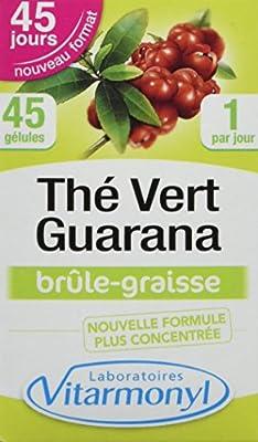 VITARMONYL Thé Vert guarana 60 gélules