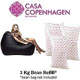 Casa Copenhagen 3 Kg Exotic Premium A-Grade Bean Bag Refill/Filler