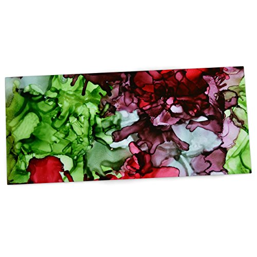 kess-inhouse-claire-day-tmnt-verde-marrone-office-desk-mat-blotter-pad-mousepad-13-x-559-cm-by-kess-
