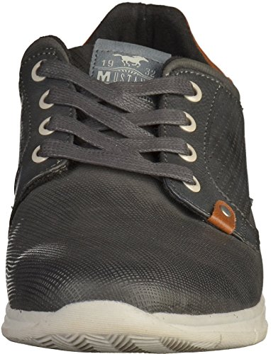 Mustang 4115-301 hommes Baskets Graphite