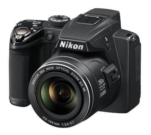 Nikon Coolpix P500 Digitalkamera (12 Megapixel, 36-fach opt. Zoom, 7,5 cm (3 Zoll) Display, Full-HD Video, bildstabilisiert) schwarz - 2